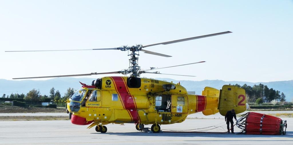 Elicottero Kamov : Helicópteros kamov operacionais no combate a incêndios